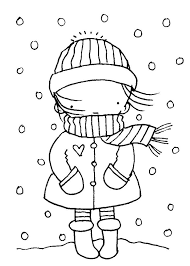 january coloring pages for kindergarten preschool winter coloring pages