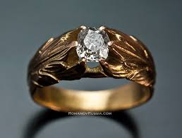 mens rings sale images Antique gold diamond men 39 s rings sale vintage russian imperial jpg