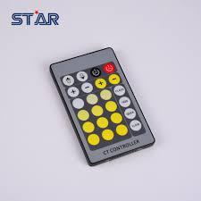 led strip light controller 24 key led dimmer controller color temperature remote controller