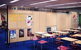 classroom portable room dividers screenflex