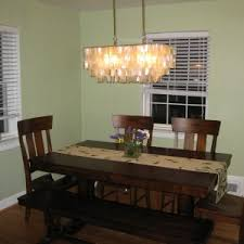 Cheap Chandeliers For Dining Room Lighting Ls The Capiz Chandelier For Light
