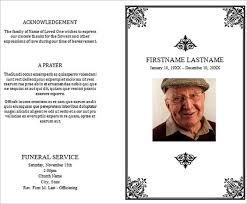 sle funeral program free sle funeral program template 28 images funeral program