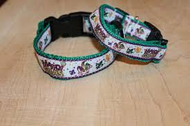 mardi gras dog collar 4 laissez les bons temps rouler you dont to be in new orleans to