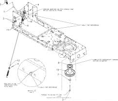 mtd 13bc762f000 2016 parts diagram for manual pto