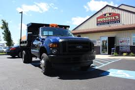 Ford F350 Dump Truck With Plow - medium duty diesel trucks bridgeton nj russell u0027s truck sales