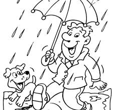 Rainy Day Pictures To Color Rainy Day Coloring Pages Coloring Home Rainy Day Coloring Pages