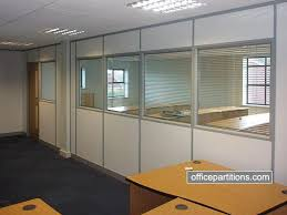 Integral Venetian Blinds Office Partitions Glass Partitions