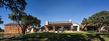 Barn Style Home Plans Modern Rustic Barn Style Retreat In Texas Hill Country Texas