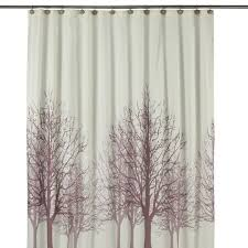birch tree shower curtain shower curtain tree forest bird black