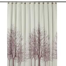 Shopko Trees Birch Tree Shower Curtain Shower Curtain Tree Forest Bird Black
