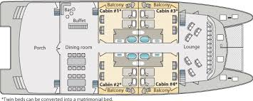 deck plans and specifications of the ocean spray luxury