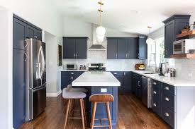 navy blue kitchen cabinet design design trend blue kitchen cabinets