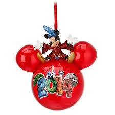 ornament 2014 icon sorcerer mickey mouse on top