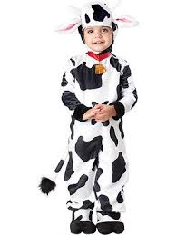 Halloween Costume 3t Mini Moo Deluxe Animal Farm Toddler Kids Boys Girls Halloween
