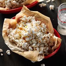 nacho popcorn recipe taste of home