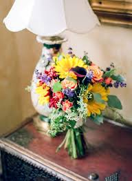 Wedding Flowers Fall Colors - 18 gorgeous wedding bouquets in vibrant fall colors style motivation