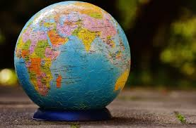 free images play green color blue globe world art stand