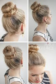 different hairstyles in buns 30 buns in 30 days day 11 donut bun and braid hairstyle hair