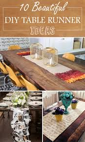 make your own table runner diy table runner ideas jpg