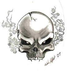 skull by fricky ticky tavvy on deviantart