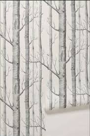 birch tree wrapping paper birch wallpaper cole sons i will always and i will not
