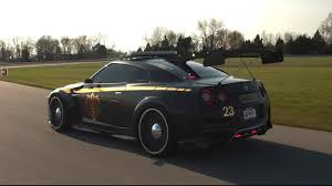 nissan supercar concept nissan create r35 gt r u0027copzilla u0027 police car concept for new york