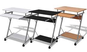 bureau avec plateau coulissant jusqu à 21 bureau pour ordinateur groupon