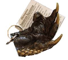 alligator claws alligator claw foot paw key ring real gator sw magic voodoo new