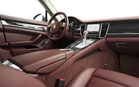interior porsche panamera 2012 porsche panamera s hybrid test motor trend