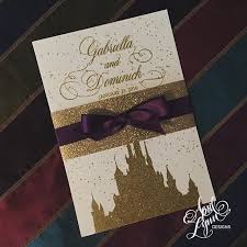 Beauty And The Beast Wedding Invitations Disney Themed Wedding Invitations Reduxsquad Com
