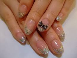 60 most beautiful glitter nail art ideas