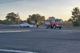 two people dead in fiery livestock truck crash at dubbo abc news