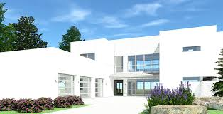 eye catching 4 bed modern house plan 44142td gives you over 4 000