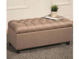 tufted storage ottoman coffee table tag tufted ottoman storage