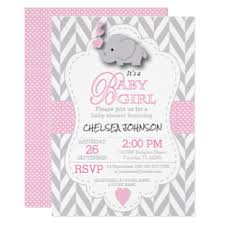 pink and grey elephant baby shower pink and grey elephant baby shower invitations sempak 010e57a5e502