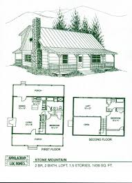 free log cabin plans floor plan loft hunting frame own one plans attached log story