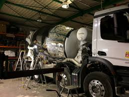 artist turns cement truck into giant disco ball blazepress