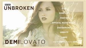 demi lovato new mp songs download download mp3 album demi lovato unbroken