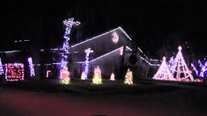 palm harbor christmas lights indian trail palm harbor christmas light show 2012 youtube