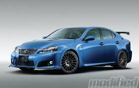 lexus isf modifications trd adds funk fury to jdm is f spinout modified magazine