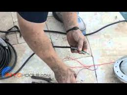 how to change a pool light how to replace a pool light fixture youtube