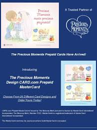 bancorp bank prepaid cards precious moments a message from our trusted partner card