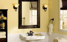 Bathroom Mirror Lighting Ideas Colors Master Bathroom Mirror Ideas Natural Grey Wooden Vanity Drawer
