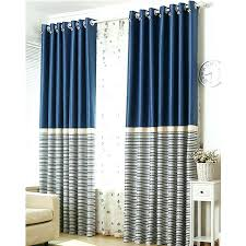 Striped Blackout Curtains Navy Striped Curtains Inspiring Striped Blackout Curtains And