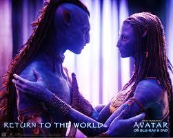 neytiri and tsu u0027tey from avatar desktop wallpaper