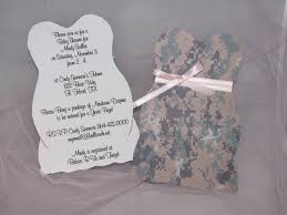 army acu baby shower invitations by funnstuffpdx67 on etsy