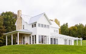 contemporary farmhouse architecture interior design and