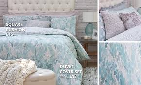 Dunelm Mill Nursery Curtains by Waves Teal Bedding Collection Dunelm