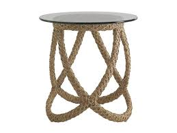 rattan coffee table outdoor tommy bahama outdoor aviano wicker rattan side table reviews wayfair
