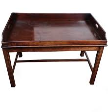Tray Coffee Table by Antique Georgian Style Mahogany Butlers Tray Coffee Table Ebth
